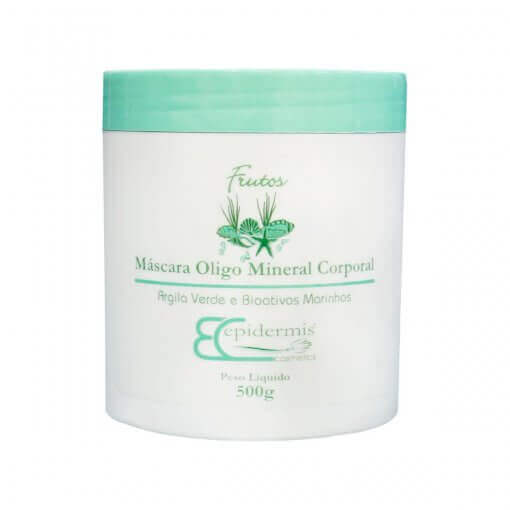 Máscara - Oligo Mineral Corporal, Bioativos Marinhos 500G - Epidermis