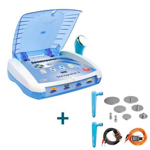 Sonopulse II Ibramed - Aparelho De Terapia Combinada (4X1) + Kit Eletroporação