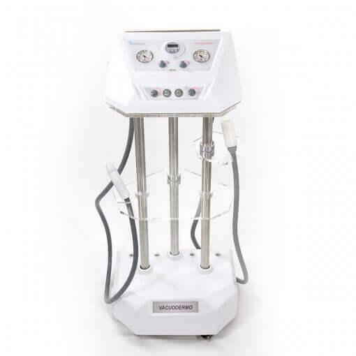 Vacuodermo Completo Fismatek - Aparelho de Vacuoterapia, Peeling De Diamante e Cristal e Pump