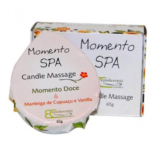 Vela Para Massagem - Candle Massage Doce 65G - Epidermis
