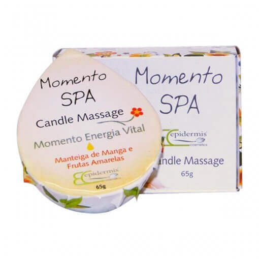 Vela Para Massagem - Candle Massage Energia 65G -  Epidermis