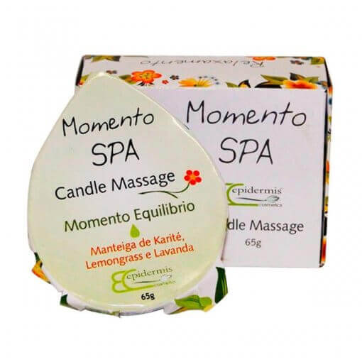 Vela Para Massagem - Candle Massage Equilibrio 65G-  Epidermis