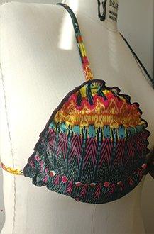 Imagem - Biquíni cortininha plus size com bojo removível. cód: 901540489