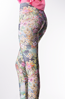Imagem - Legging em poliamida e elastano. 19240311 PAVAO