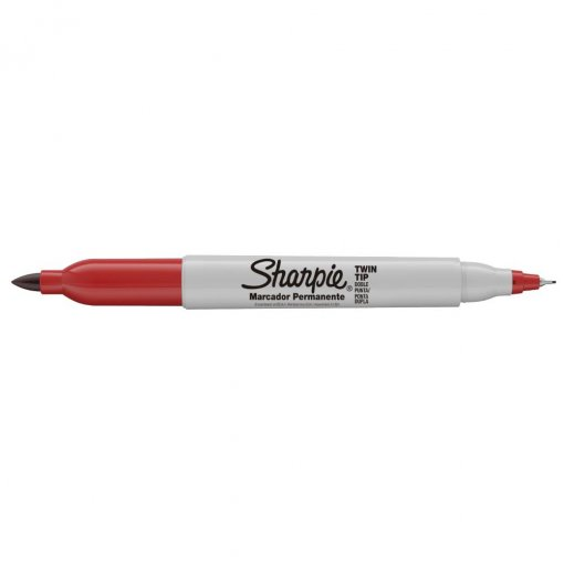Marcador Permanente Sharpie Twin Tip