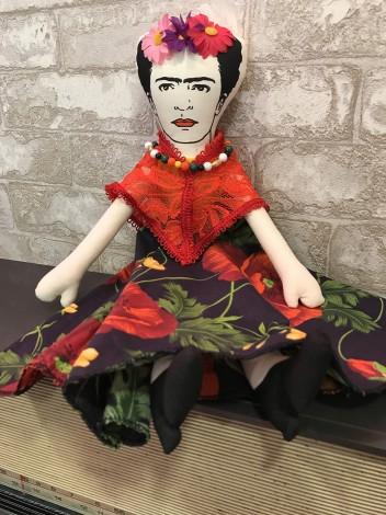 Boneco Frida Kahlo