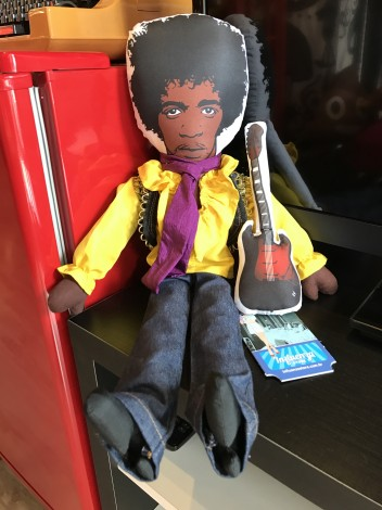 Boneco Jimi Hendrix