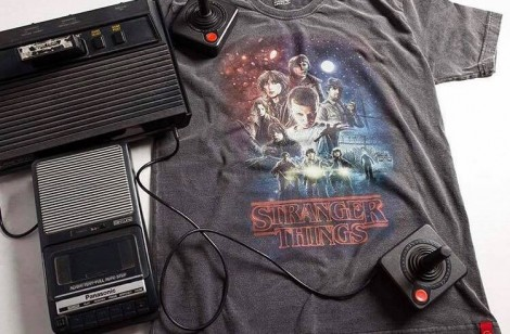 Camiseta Estonada - Stranger Things