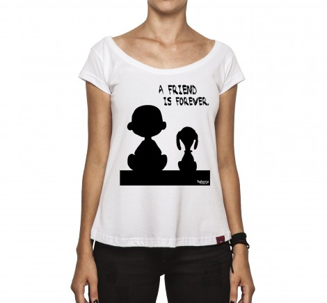 Camiseta Feminina - A Friend Is Forever