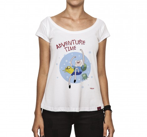 Camiseta Feminina - Adventure Time