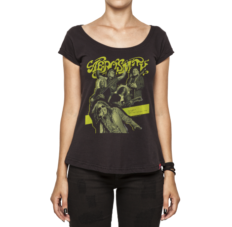 Camiseta Feminina Aerosmith - South American Tour 2016