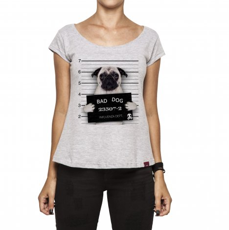 Camiseta Feminina - Bad Dog