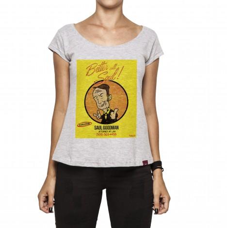 Camiseta Feminina - Better Call Saul