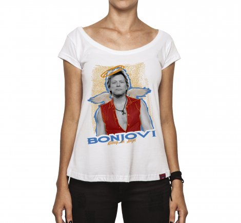 Camiseta Feminina - Bon Jovi