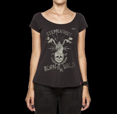 Camiseta Feminina - Born To Be Wild - Steppenwolf