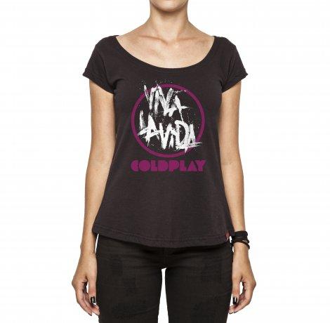 Camiseta Feminina - Cold Play