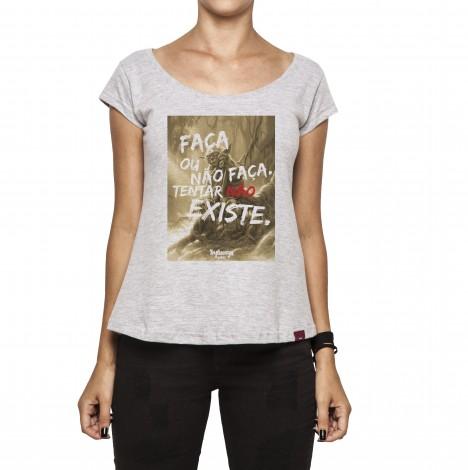 Camiseta Feminina - Conselhos do Mestre Yoda