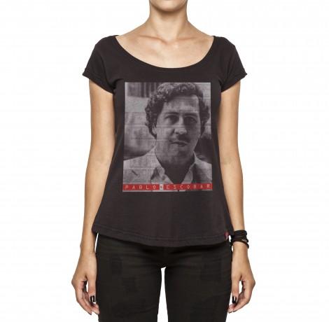 Camiseta Feminina - Don Pablo Escobar