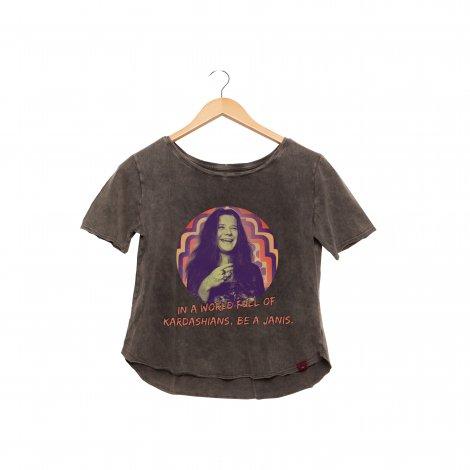 Camiseta Feminina Estonada - Be a Janis