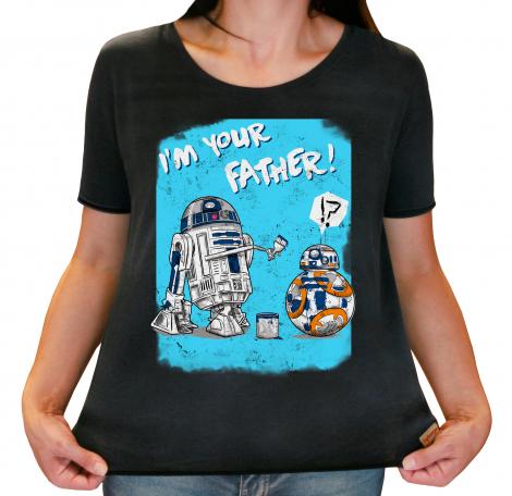Camiseta Feminina Estonada - I`m Your Father!