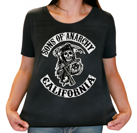 Camiseta Feminina Estonada - Sons Of Anarchy
