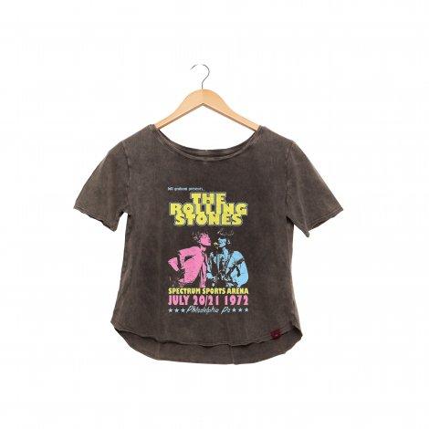 Camiseta Feminina Estonada - The Rolling Stones 1972