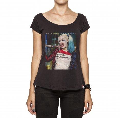 Camiseta Feminina - Harley Quimpressive
