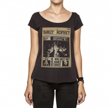 Camiseta Feminina - Harry Potter