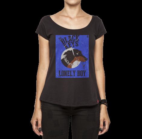 Camiseta Feminina - Lonely Boy - The Black Keys