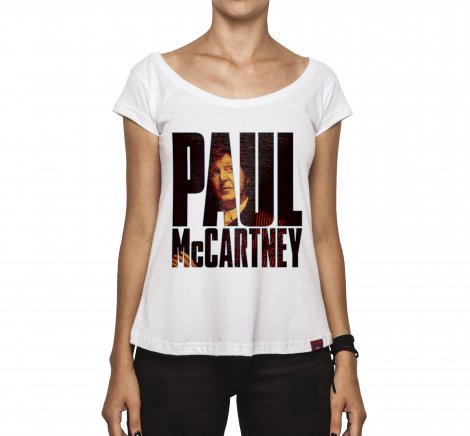 Camiseta Feminina - McCartney