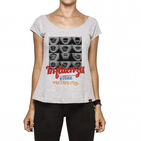 Camiseta Feminina - Mouth