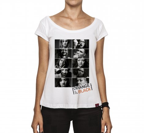 Camiseta Feminina - Orange Is The New Black