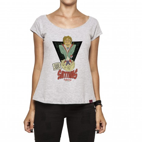 Camiseta Feminina - Pequeno Príncipe - Sativas