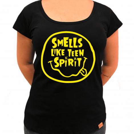 Camiseta Feminina - Smells Like Teen Spirit