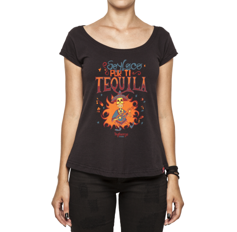 Camiseta Feminina - Soy Loco Por Ti Tequila
