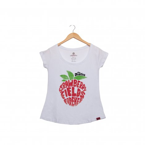 Camiseta Feminina - Strawberry Fields