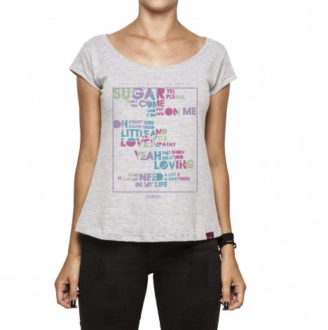 Camiseta Feminina - Sugar, Yes Please!