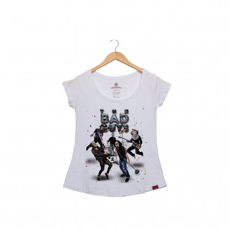 Camiseta Feminina - The Bad Guys