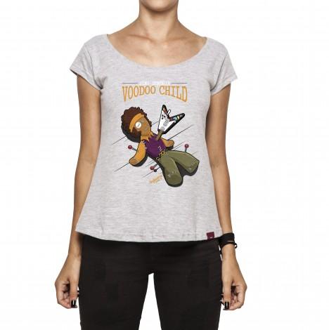 Camiseta Feminina - Voodoo Child - Jimi Hendrix