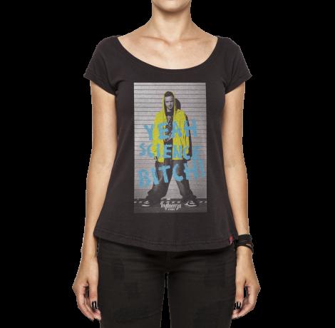 Camiseta Feminina - Yeah Science Bitch - Breaking Bad