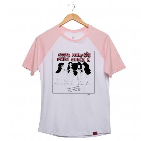 Camiseta Manga Raglan Unissex - A Fantástica Aventura de Ser Mulher - Bruxas