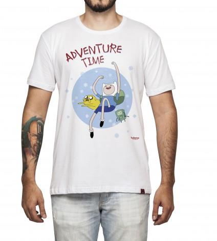 Camiseta Masculina - Adventure Time