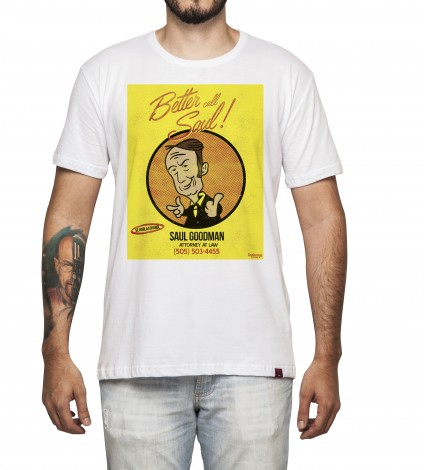 Camiseta Masculina - Better Call Saul