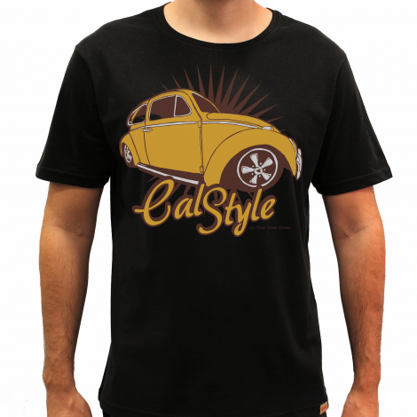 Camiseta Masculina - Cal Style - Air Cooled Culture Collection