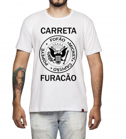 Camiseta Masculina - Carreta Furacão