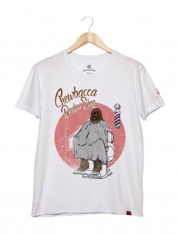 Camiseta Masculina - Chewbacca Barber Shop