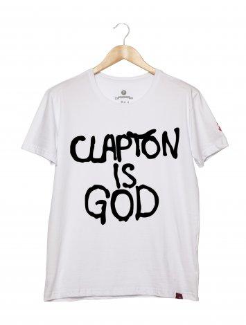 Camiseta Masculina - Clapton Is God 2
