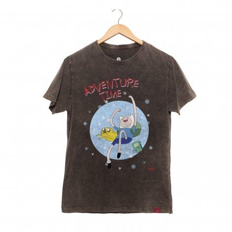 Camiseta Masculina Estonada - Adventure Time