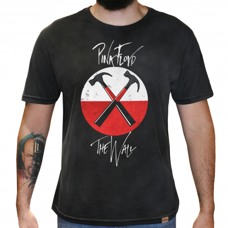 Camiseta Masculina Estonada - Pink Floyd The Wall