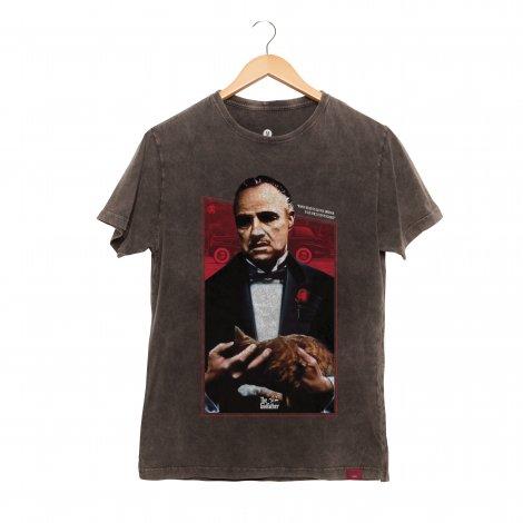Camiseta Masculina Estonada - Poderoso Chefão